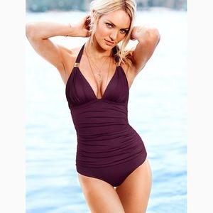 Victoria's Secret Slimming Purple Swimsuit